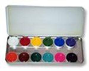 Picture of Kryolan Aquacolor Palette 12 colours RB1