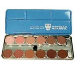 Picture of Kryolan Aquacolor Palette 12 colours 1w-12w