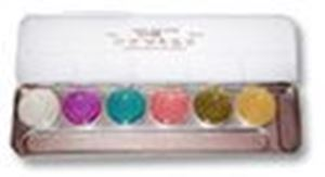 Picture of Kryolan Aquacolor Interferenz Make-up 6 Colours Palette