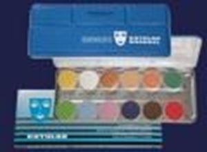 Picture of Kryolan Aquacolor Interferenz 12 Colours Palette