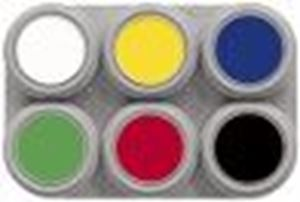 Picture of Grimas Waterbased Palette 6 Standard Colours