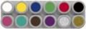 "Picture of Grimas Waterbased A"" Palette 12 Standard Colours"""