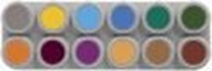 "Picture of Grimas Waterbased B"" Palette 12 Standard Colours"""