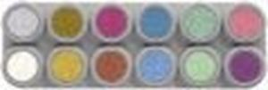 Picture of Sp. Offer Grimas W'based Pearl P12 Palette 12 Cols
