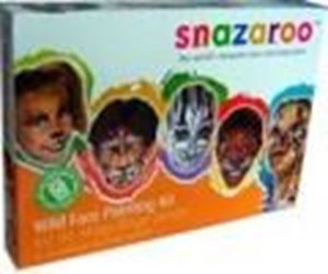 Picture of Snazaroo Wild Faces Kit