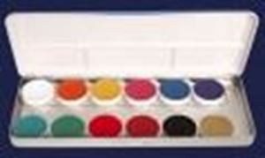 Picture of Kryolan Supracolor Palette 12 Colours - FP