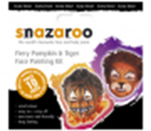 Picture of Snazaroo Fiery Tiger/Pumpkin Facepainting Theme pack