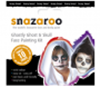 Picture of Snazaroo Ghastly Ghost and Skull Theme Pack