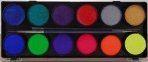 Picture of Diamond FX Metallic/Neon 12 colour 10g palette