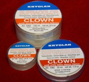 Picture of Kryolan Supracolor Clown White - 30g