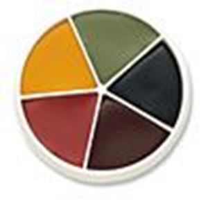 Picture of Mehron Pro Colour Bruise Wheel 5 cols
