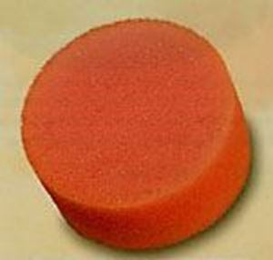 Picture of Kryolan round make-up sponge - pack of 10