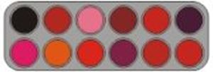 Picture of Grimas Lipstick 12 colour palette - LF
