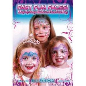 Picture of Illusion Fast Fun Faces Face Painting book