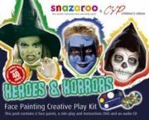 Picture of Snazaroo Heroes & Horrors Face Painting and DVD Kit