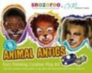 Picture of Snazaroo Animal Antics Face Painting & DVD Kit