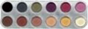 Picture of Sp. Offer Grimas Eyeshadow/Rouge 12 col Palette FM