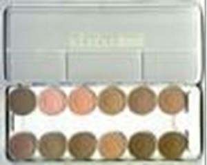 Picture of Kryolan Rubber Mask Grease Palette 12 colours