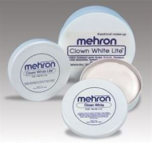 Picture of Mehron Clown White Lite - 2oz