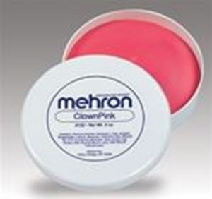 Picture of Mehron Clown Pink - 2oz