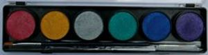 Picture of Diamond FX Metallic 6 Cols (10g)Palette