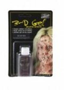 Picture of Mehron 3-D Gel Blood Red .5 oz Carded