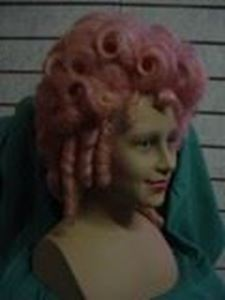 Picture of 18th Century Wig Front View - DSC 0142