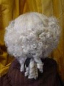 Picture of Gent's Wig 18th Cent - DSC 00389