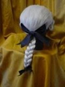 Picture of Gent's Tail Wig 18th Cent - Back View - DSC 00394