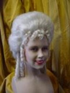 Picture of Lady's Wig 18th Century