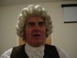 Picture of Dauphine 18th Century Gent's Judge's Wig