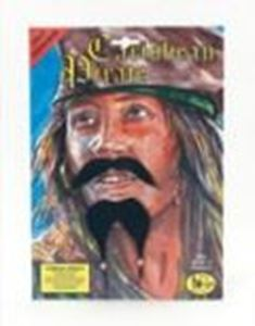 Picture of B'tol Nov Ltd Caribbean Pirate moustache and beard