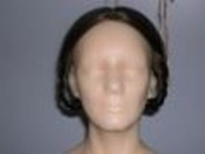 Picture of Lady's Wig 1852-1875 - Front