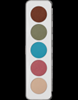 Picture of Sp. Offer Kryolan Eye Shadow Palette Iridescent
