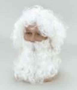 Picture of Father Christmas Budget Wig & Beard - BW019