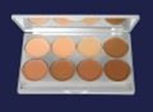 Picture of Kryolan Ultra Foundation Palette - 8 colours