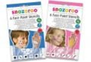 Picture of Snazaroo Pack of 6 Face Paint Stencils