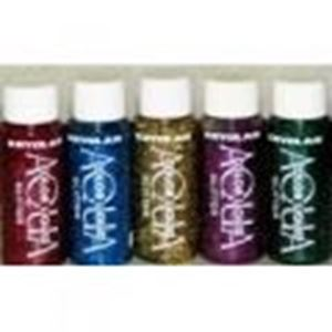 Picture of Kryolan Aquacolor Glitter Paint 30ml
