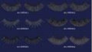 Picture of Kryolan Eyelashes - B1 - B6