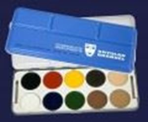 Picture of Kryolan Body Illustration Palette 10 Colours