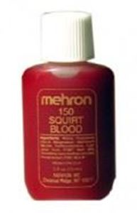 Picture of Mehron Squirt Blood Light Arterial .5 carded
