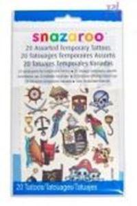 Picture of Snazaroo 20 Temporary Tattoos (Boys)