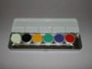 Picture of Kryolan Supracolor Palette 6 colours 'A'