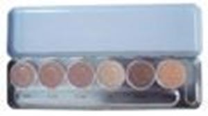 Picture of Kryolan Supracolor Palette 6 Colours 'X'