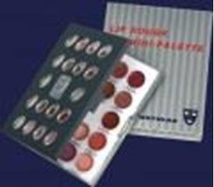Picture of Kryolan Mini Lip Rouge Palette - LMP111