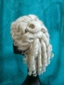 Picture of Dauphine 18th Century Ringlets - Side View
