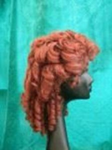 Picture of Edwardian Ringlets - Side View