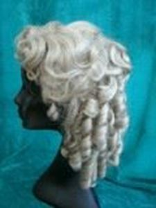 Picture of Edwardian and Grecian Ringlets - Side View
