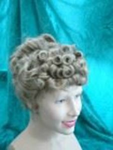 Picture of Edwardian Curly Wig - Front View
