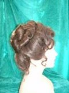 Picture of 1930s/Edwardian Wig - Side View